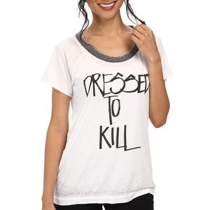 Chaser Dressed To Kill Burnout Tee